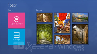 Fotor para Windows 8 Modern UI. A fondo