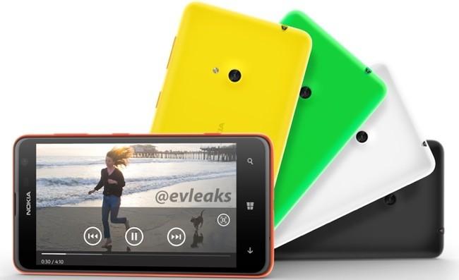 Nokia Lumia 625 - colores