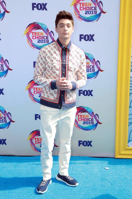 Asher Angel Fox S Teen Choice Awards 2019 Arrivals