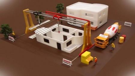 Proponen un sistema de impresoras 3D para construir nuestras casas inteligentes en menos de un día