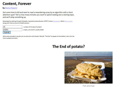 texto aleatorio sobre la patata