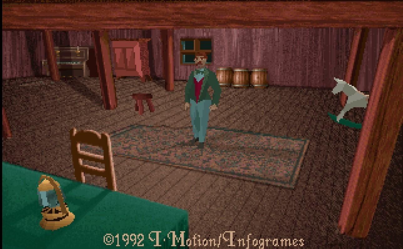 Alone in the dark (Infogrames, 1992)