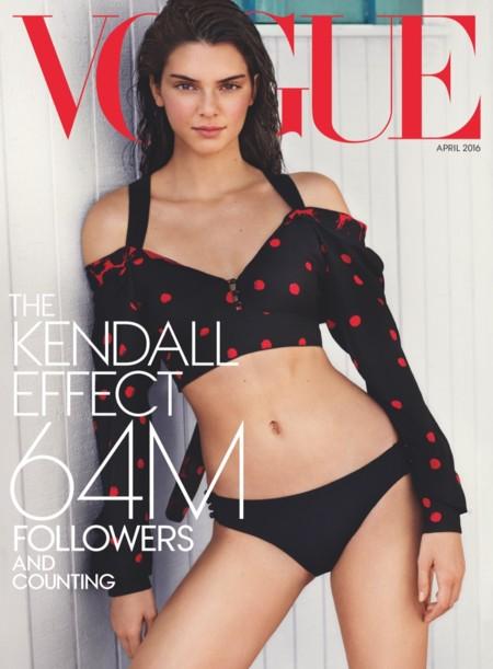 El día en que Kendall Jenner logró su objetivo: protagonizar la portada de Vogue US
