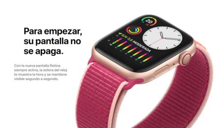 Apple Watch Series 5 Pantalla Siempre Encendida