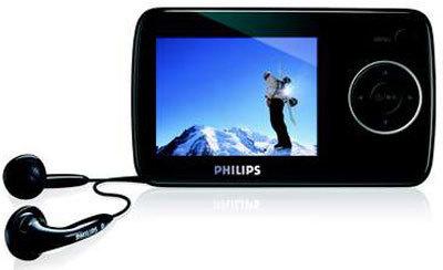 Philips GoGear SA3300 con 8 GB de capacidad