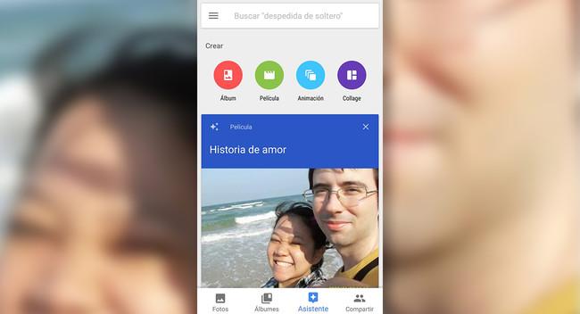 Así puedes hacer un vídeo romántico en Google Fotos