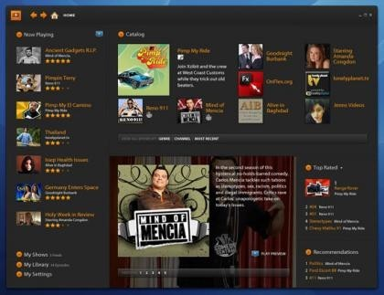Adobe Media Player en tu escritorio