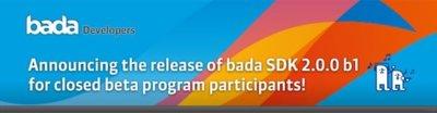 Samsung comienza a distribuir de forma cerrada la beta SDK 2.0.0 b1 de bada