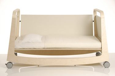 Babybett Suiko, cuna, cama y balancín