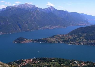El lago de Como de Manzoni y no el de Clooney