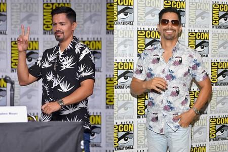 Jay Hernandez Comic Con International 2018 Floral Shirts Trend