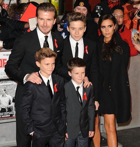 Tenedlo claro, los Beckham no crían Ni-Nis