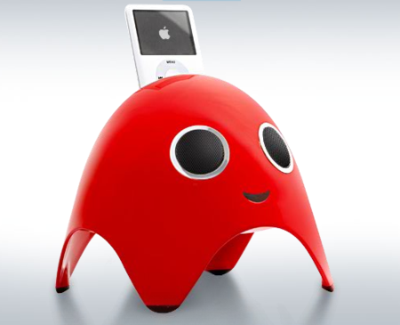 iBoo: dock para iPod del Pac-Man