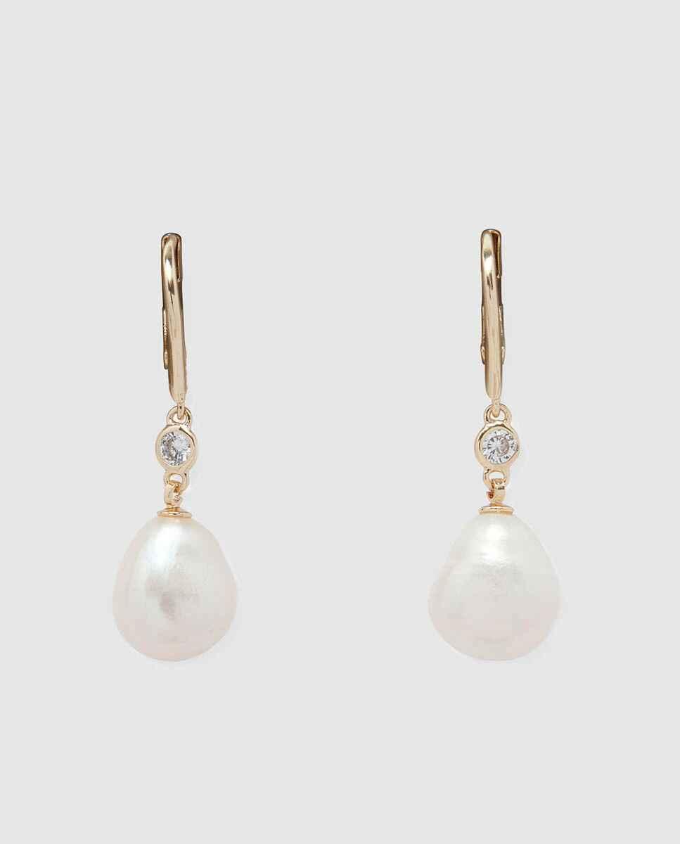 Pendientes Lauren Ralph Lauren Warshire con perlas