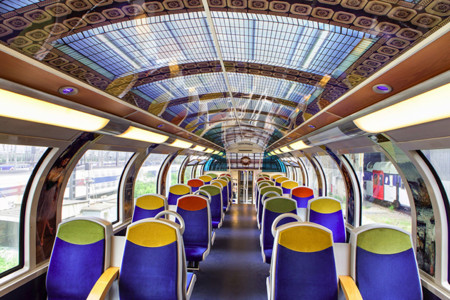 Impressionist Art Public Trains France 2
