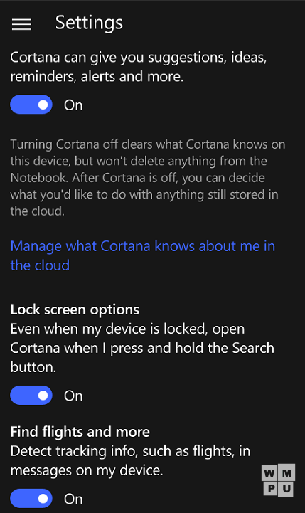 Windows 10 Mobile build 10240