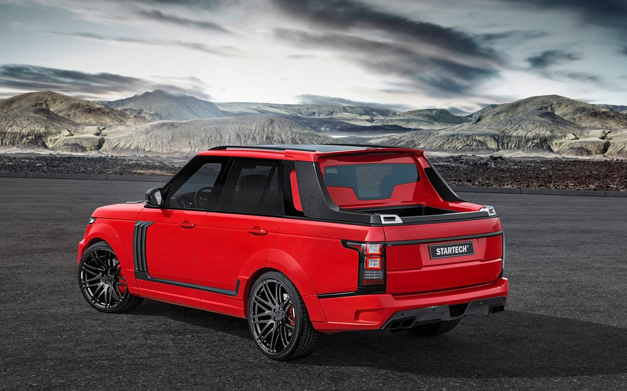 Foto de Range Rover pick-up by Startech (3/8)