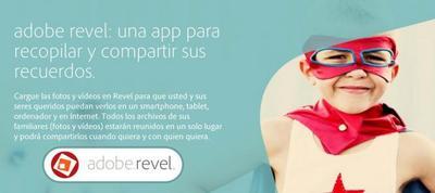 Adobe Revel llega a Android, comparte tus fotos y vídeos de forma privada
