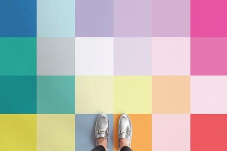 Suelos pixelados a todo color: una tendencia en pavimentos muy veraniega