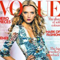 Lily Donaldson para Vogue Uk