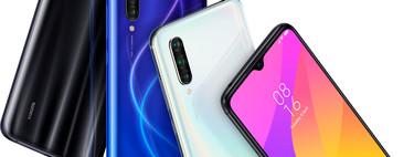 Xiaomi Mi 9 Lite: cámara frontal de 32 megapíxeles y lector de huellas en pantalla para el Mi 9 más juvenil