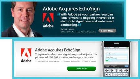 Adobe se acerca a la firma electrónica con la compra de EchoSign