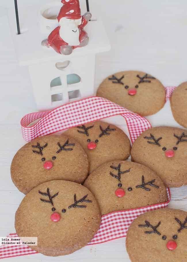 Renos de speculoos galletas de navidad para hacer con ni os for Cocina navidad con ninos