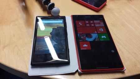 Nokia está preparando un phablet, aquí la primera fotografía del Nokia Lumia 1520
