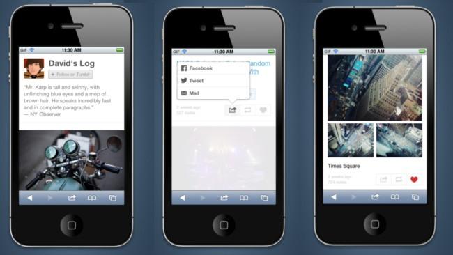 Tumblr estrena rediseño de su tema móvil: compartir ahora es más fácil