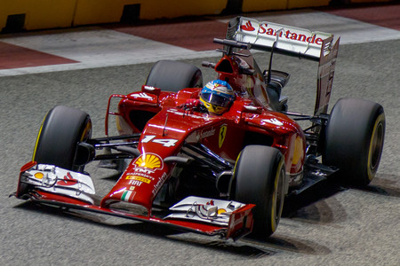 Alonso Singapur F1 2014