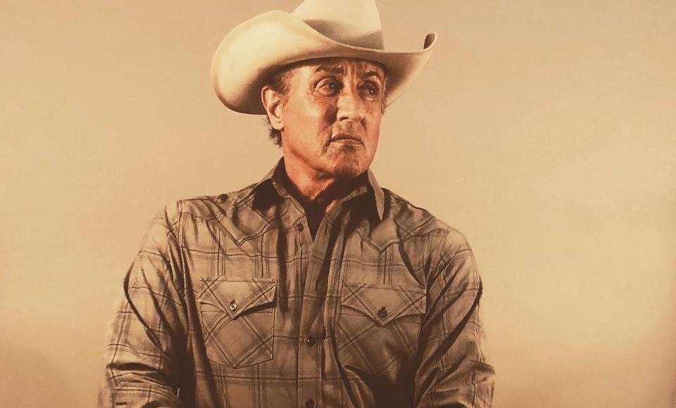 La sorprendente primera imagen de  Rambo 5  convierte a Sylvester Stallone  en un cowboy bc16550b99f