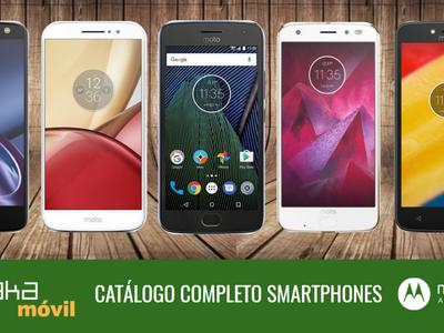 Moto Z2 Play, así encaja dentro del catálogo completo de smartphones Moto by Lenovo en 2017