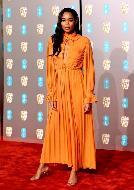 Laura Harrier Bafta 2019