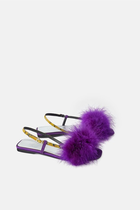 Zapatos Plumas 09