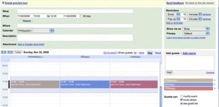 Google Calendar facilitará la gestión de reuniones