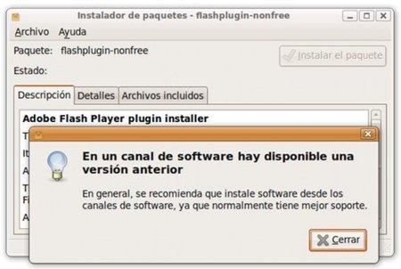 Instalar Flash Player 10 Ubuntu
