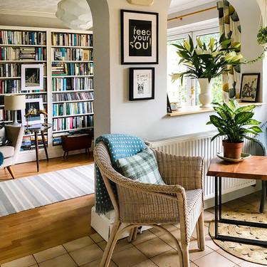 Esta casa con una decoración interior dedicada a la literatura y al arte es una joya
