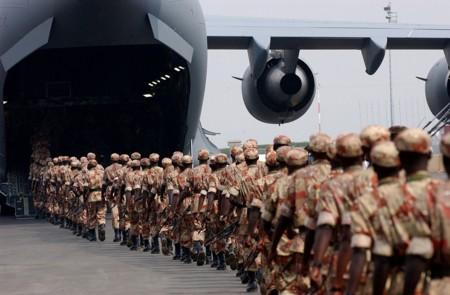 Soldados Ruandeses