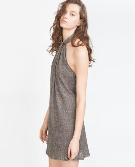 Vestido Halter Zara