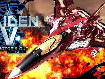 Raiden V: Director's Cut es anunciado para PS4 y Steam con nuevos niveles y un modo cooperativo