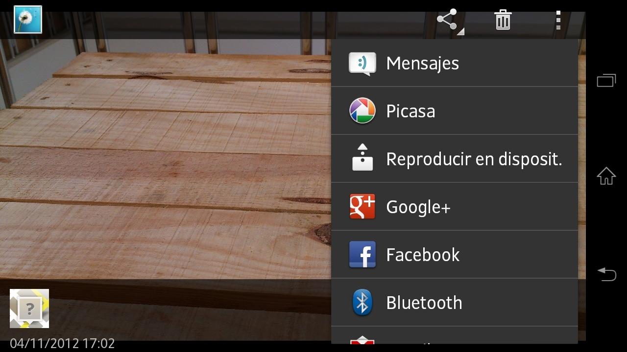Foto de Xperia T capturas sistema operativo (1/8)