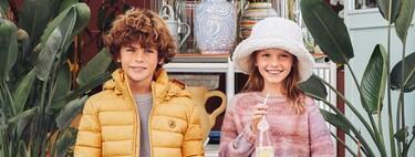 Scalpers Kids deja claro que la vuelta al cole este año estará marcada por las camisas de cuadros y las prendas de punto