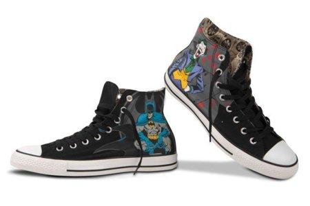 Converse lanza nuevas zapatillas inspiradas en los superhéroes de DC comics