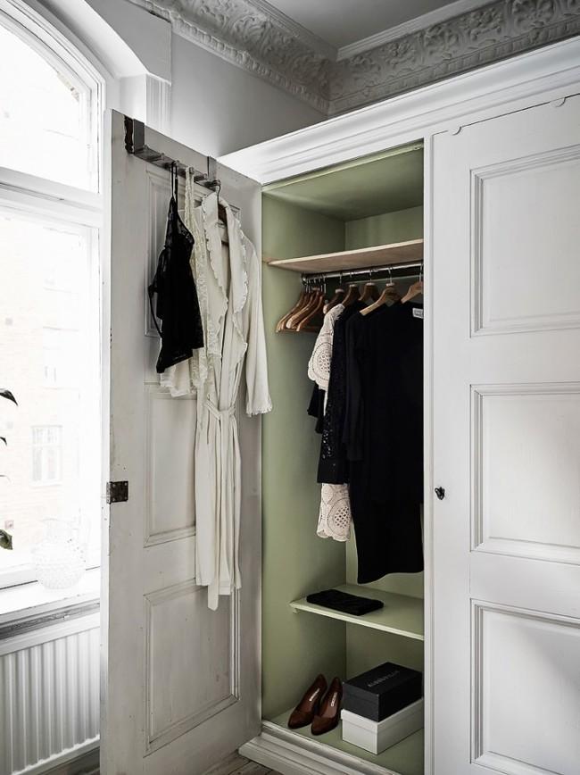 Cama en armario