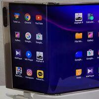 Este Galaxy Fold se dobla no una, sino dos veces: su pantalla triple plantea una opción más para el futuro de los plegables