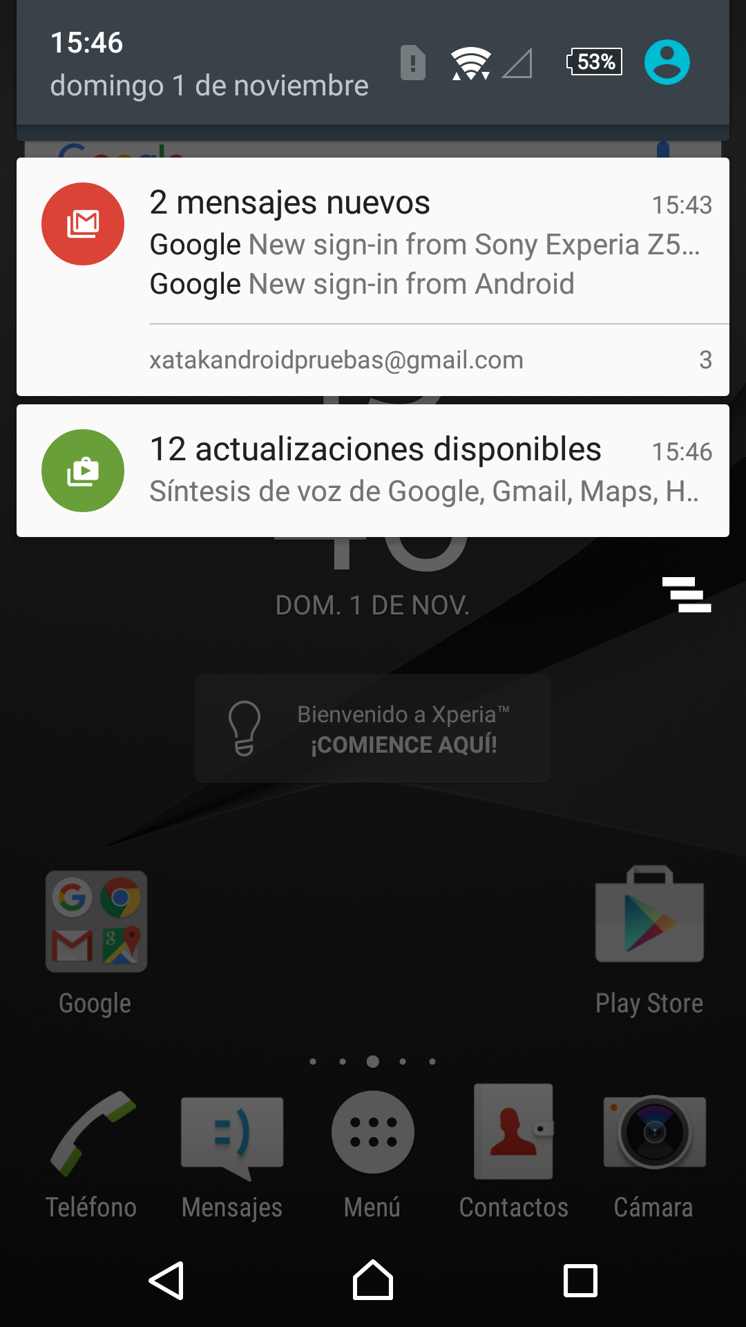 Sony Xperia Z5 Premium, software