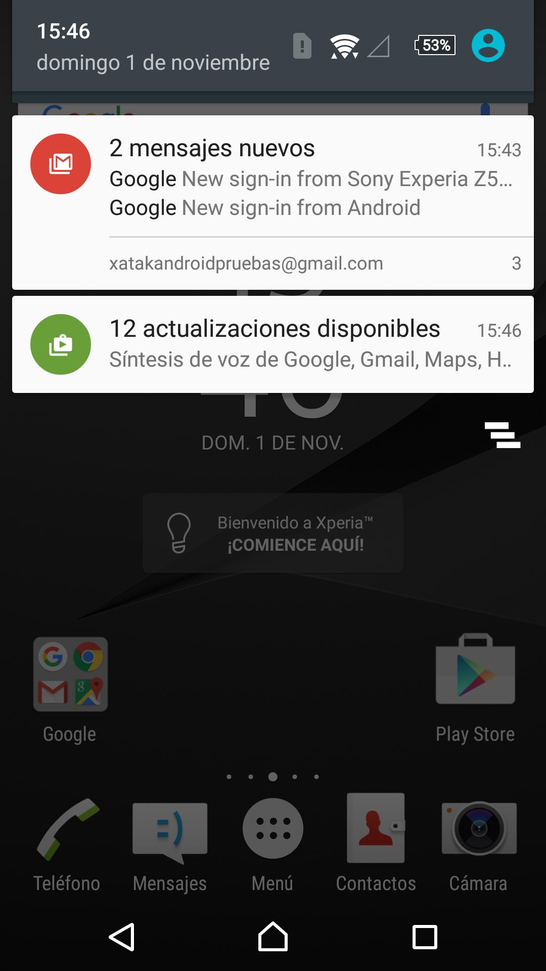 Foto de Sony Xperia Z5 Premium, software (3/12)