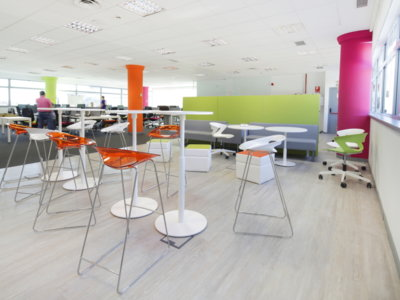 Espacios para trabajar: las oficinas de Raet en Madrid