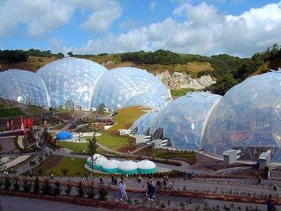 El proyecto Edén: la bioesfera british
