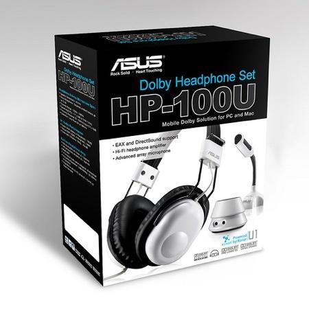 Asus HP-100U, sonido de cine en casa para portátiles